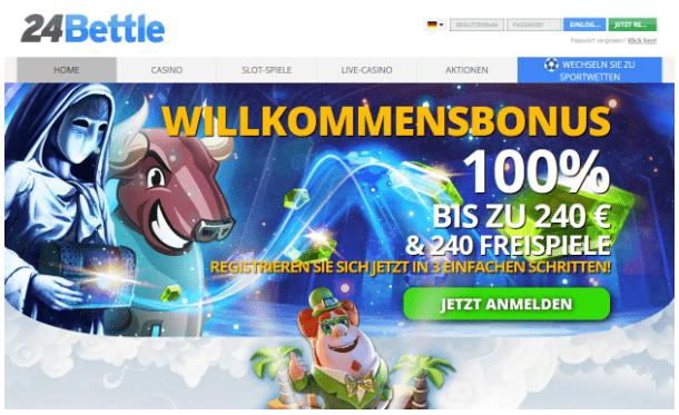24 Bettle Casino: Eine Überprüfung der bekanntesten Online-Casinoseiten
